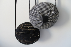 The Amelie Purse - Bow or Pocket - the perfect little purse for your essentials.